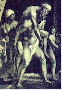 Enea, Anchise e il piccolo Ascanio
