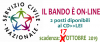 BANDO DI SERVIZIO CIVILE UNIVERSALE 2019 - 2 posti disponibili al CD>>LEI